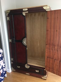 brown wooden cabinet with mirror Baltimore, 21230