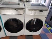 NEW ! SAMSUNG FLEX FRONT LOAD WASHER AND GAS DRYER Oceanside