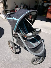 Graco Fast Action Fold Jogging stroller Barrie, L4N 7T6
