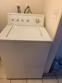 white top-load clothes washer Bakersfield, 93304