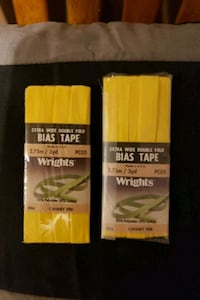 Bias tape, extra wide, double fold Vaughan