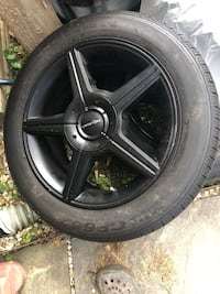 Black rims/tires Gaithersburg, 20879