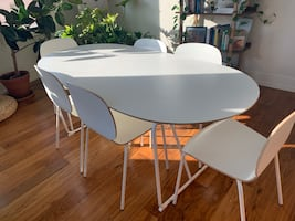 Set of ikea table and chairs