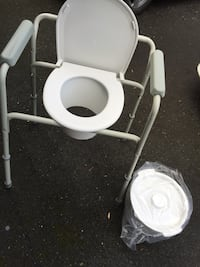 New McKesson 3 in 1 Steel Commode Chair and Paul by SunMark. Potomac, 20854
