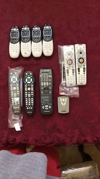 Assortment of a remotes $5 Each Moreno Valley, 92555