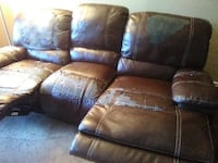 FREE 3 Seat Sofa Recliner STERLING
