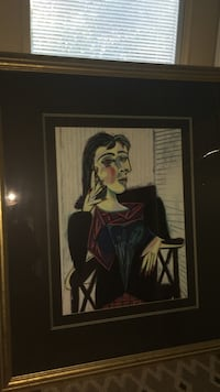 Picasso Painting and Antique Frame Santa Cruz, 95060