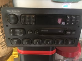 Ford factory radio with cassette
