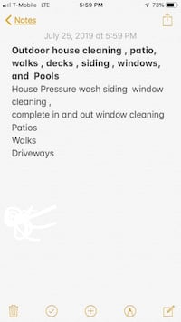 Outdoor house cleaning Maineville