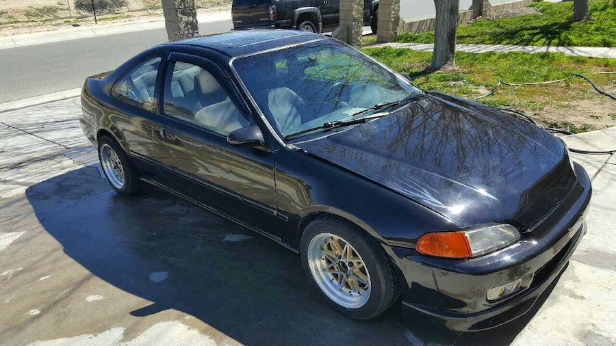 95 civic ex coupe new paint in palmdale letgo. Black Bedroom Furniture Sets. Home Design Ideas