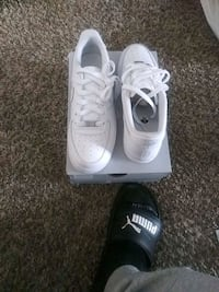 All white af1 brand new