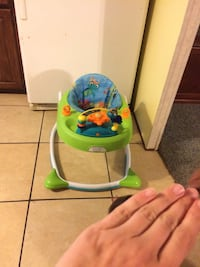 baby's green and blue bouncer Foley, 36535