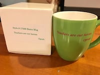 New! Oprah's 'Teachers Are Our Heroes' Mug Welland, L3C