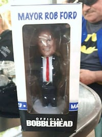 Mayor Rob Ford bobblehead box Mississauga, L4T 3M9