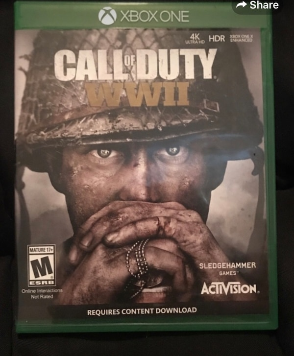 call of duty ww2 xbox one download