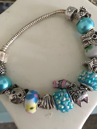 Pandora style teal charms and cat charms Virginia Beach, 23453