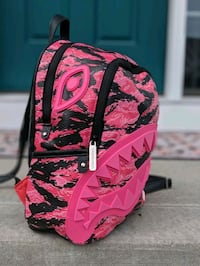 Sprayground Limited Edit. Pink Camo Mini Backpack Ankeny, 50023
