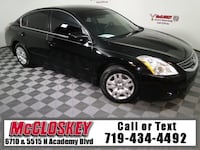 2012 Nissan Altima Super Black Colorado Springs, 80918