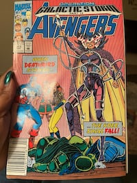 Avengers comic book #346 Baltimore, 21220