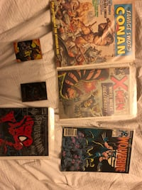 four assorted comic books collection Edmonton, T5G 1G6
