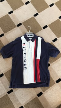 Blue, red, and white tommy hilfiger polo shirt Indianapolis, 46229