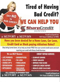 fix your credit now !! South Gate, 90280