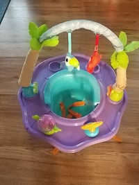 baby's green and purple activity saucer Ottawa, K1T