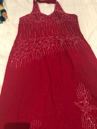 women's red sleeveless dress Montréal, H8P