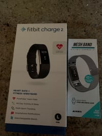 Fitbit charge 2 never used with extra mesh band Lanoka Harbor, 08734