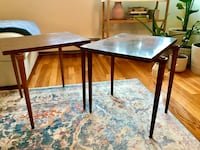 Set of midcentury tables Revere, 02151