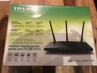 BNIB Trilink Archer c1200 router. Sealed box Toronto, M8V 0B2