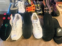 Men's shoes Nike, NB, Fila, Puma LOT aside 10 Fort Washington, 20744