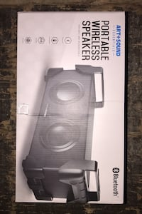 Bluetooth portable stereo system.