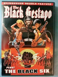The Black Gestapo and The Black Six double feature Glen Burnie