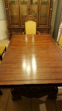 brown wooden dining table set Las Vegas, 89149