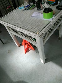 white and red wooden table Myrtle Beach, 29575