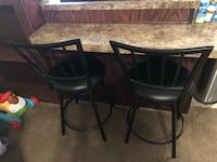2 barstools from furniture row Odessa, 79763
