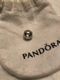 Pandora mother of pearl heart charm, RETIRED!  Vaughan, L4L
