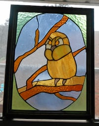 stained glass picture (Framed) LONDON
