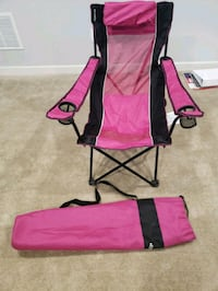 pink and black camping chair Monrovia, 21770