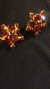 Vintage Weiss ruby red clipons Albuquerque, 87120