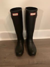 Black hunter rain boots Alexandria, 22314