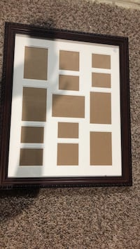 Collage picture frame.
