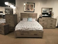 Queen bedroom set  Greensboro, 27405