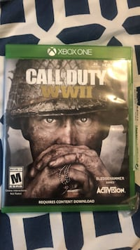 Xbox One Call of Duty WWII case Washington, 20011