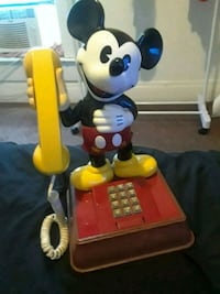 Vintage 1976 Mickey Mouse home phone  Indianapolis, 46201