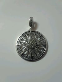 New 925 silver sun/star pendant charm necklace  Mississauga