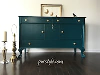 Restyled, Solid Wood  SIDEBOARD/BUFFET – Free Delivery Ottawa