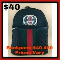 black and red Supreme backpack San Diego, 92114