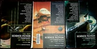 Lot of 3: The Best Science Fiction and Fantasy of